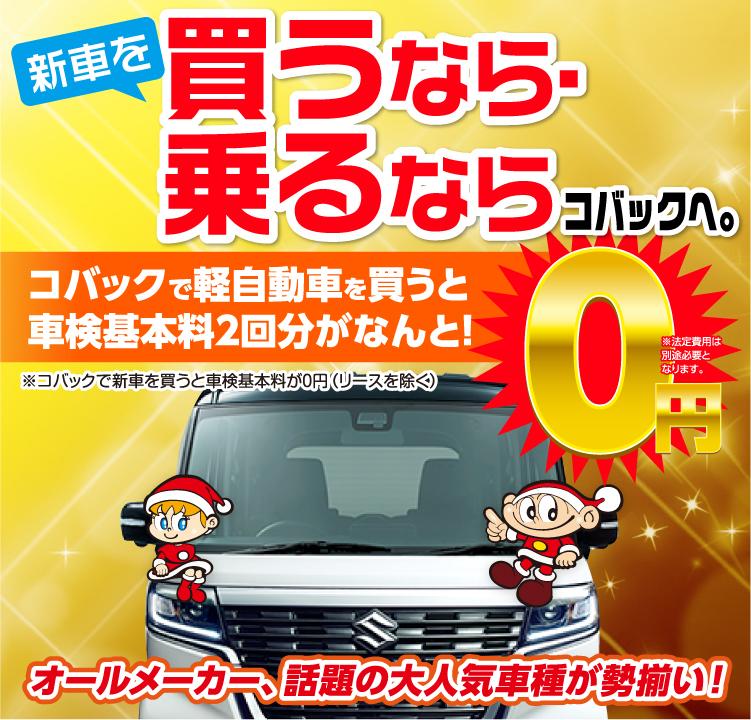 豊田市内で圧倒的実績! 新車月々1万円からコミコミ!あとはガソリンを入れるだけ!